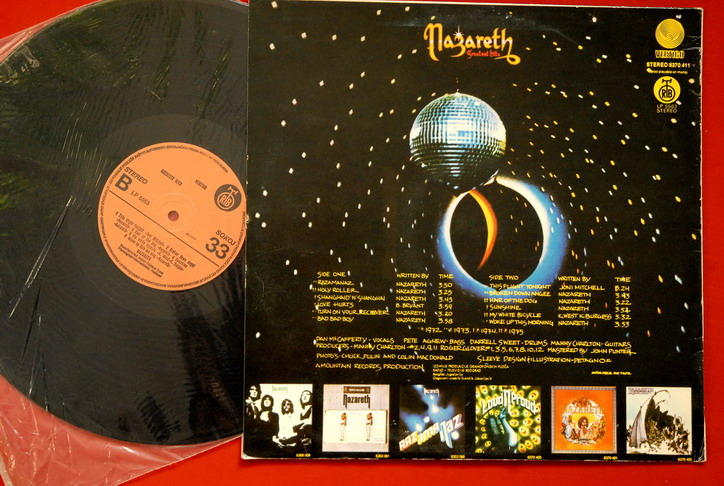 Nazareth Greatest Hits Unique Orange Lab Exyu Lp N Mint Ebay