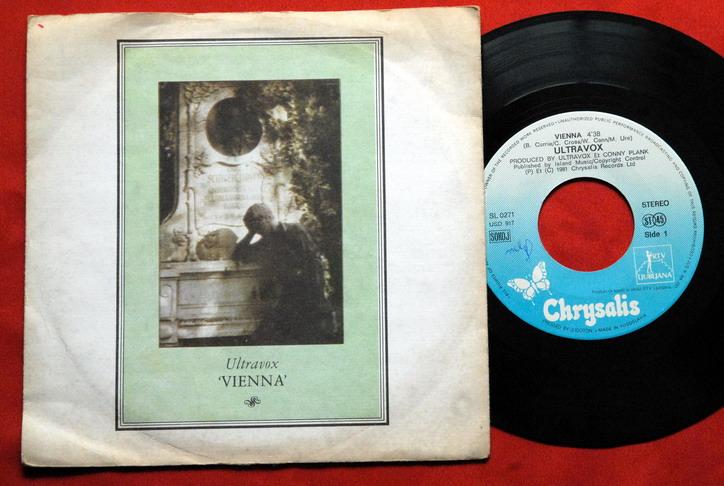Ultravox Vienna Passionate Reply 1981rare Exyu 7 Ps Ebay
